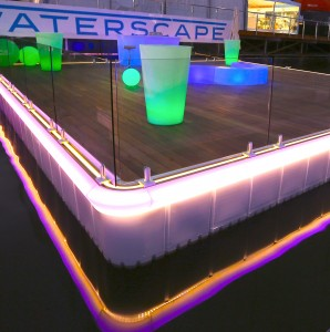 waterscape glass balustrade