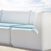Waterscape Standard Corner Seat Rotomoulded furniture