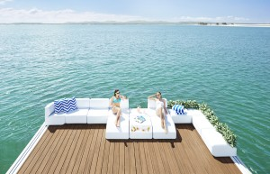 Waterscape Standard Corner Seat Rotomoulded furniture