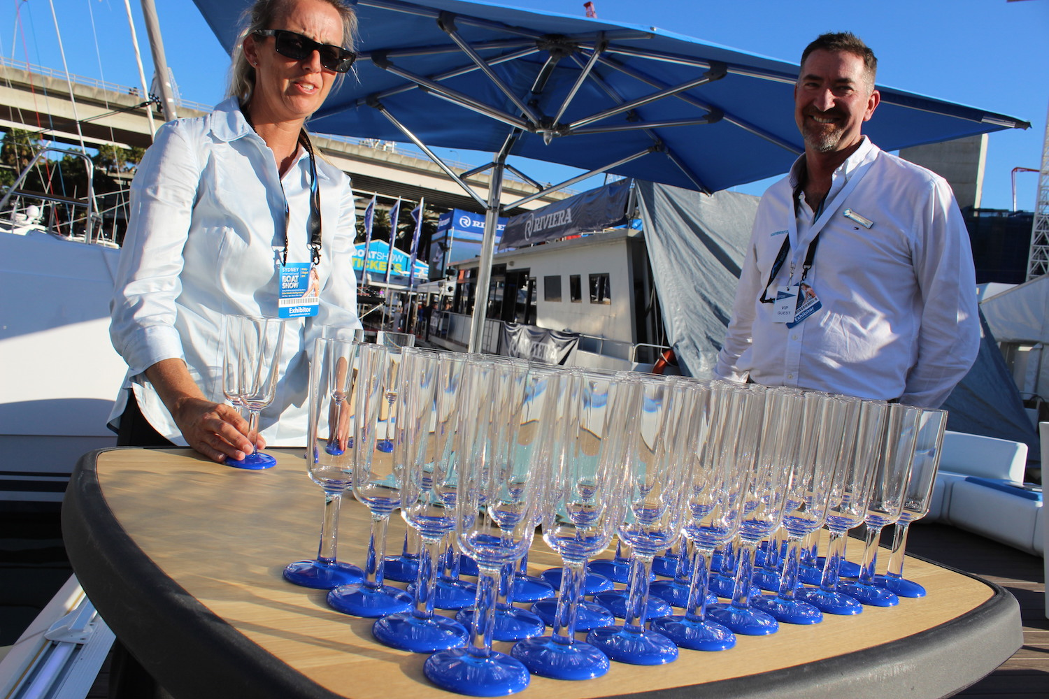 Waterscape by superior sydney international boat show for Pool show 2015 sydney