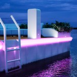 Waterscape with LED Top Lights