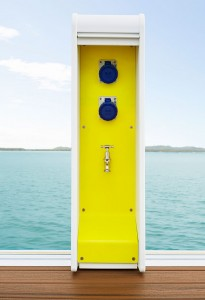 Waterscape Power Pedestal